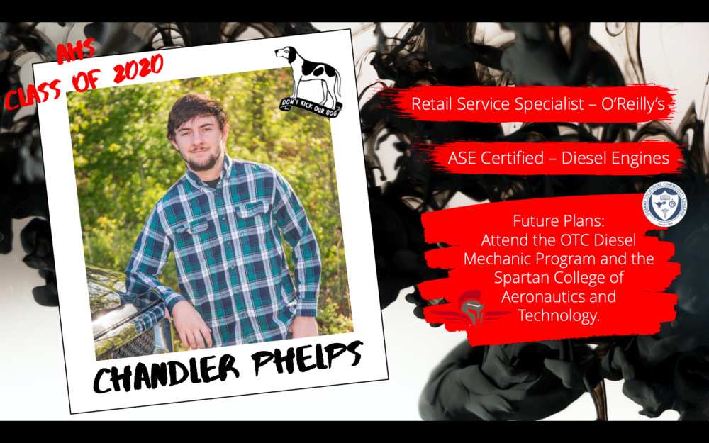 Congratulations Chandler Phelps