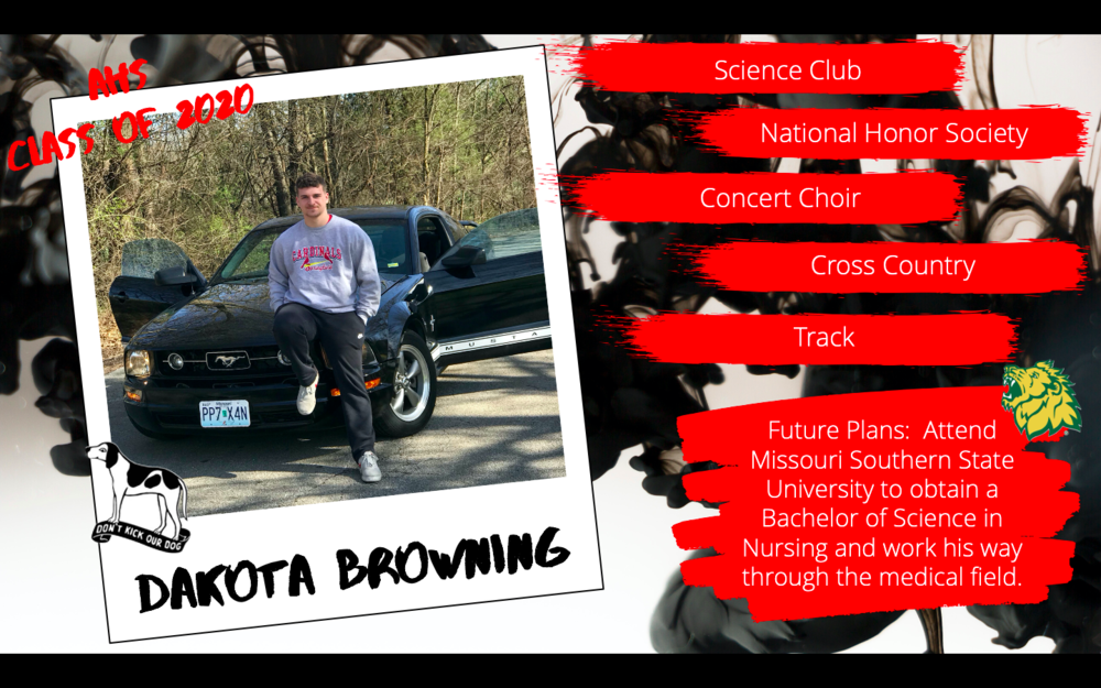 Congratulations Dakota Browning