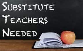Substitute Teachers Needed for the 2020-2021 School Year