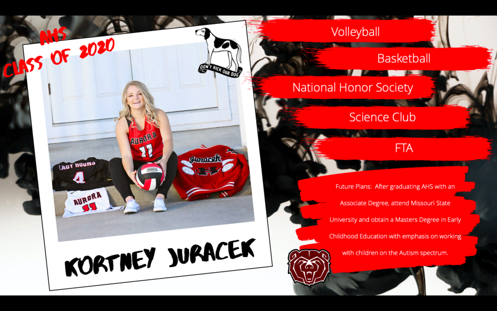 Congratulations Kortney Juracek