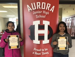 Aurora Junior High: Students of the Month