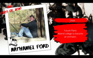 Congratulations Nathaniel Ford