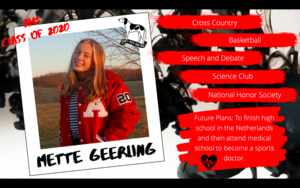 Congratulations Mette Geerling