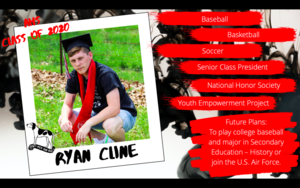 Congratulations Ryan Cline
