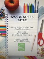 Back to School Bash-The Well
