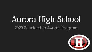 AHS 2020 Scholarship Awards Program