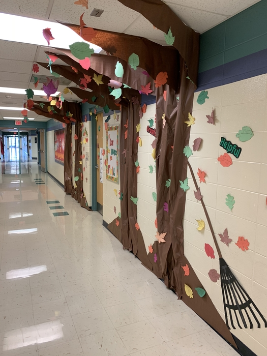 Trees are filling with leaves!  Students are so thankful here at Pate.