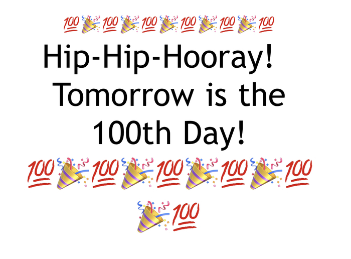 100th Day!