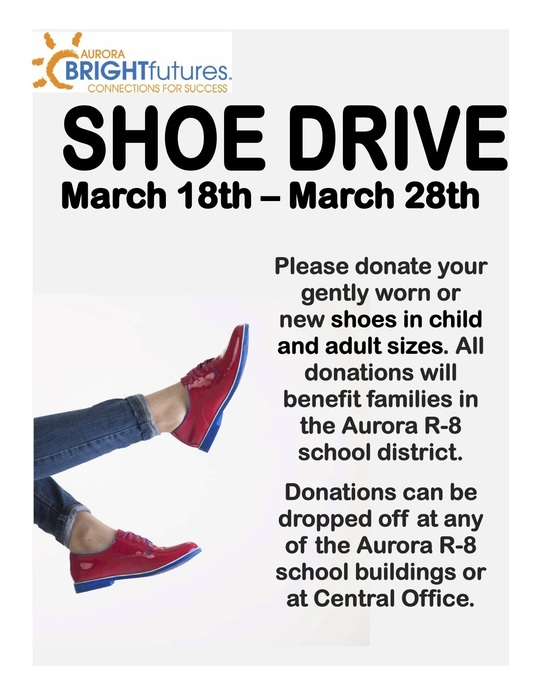 Bright Futures Shoe Drive!