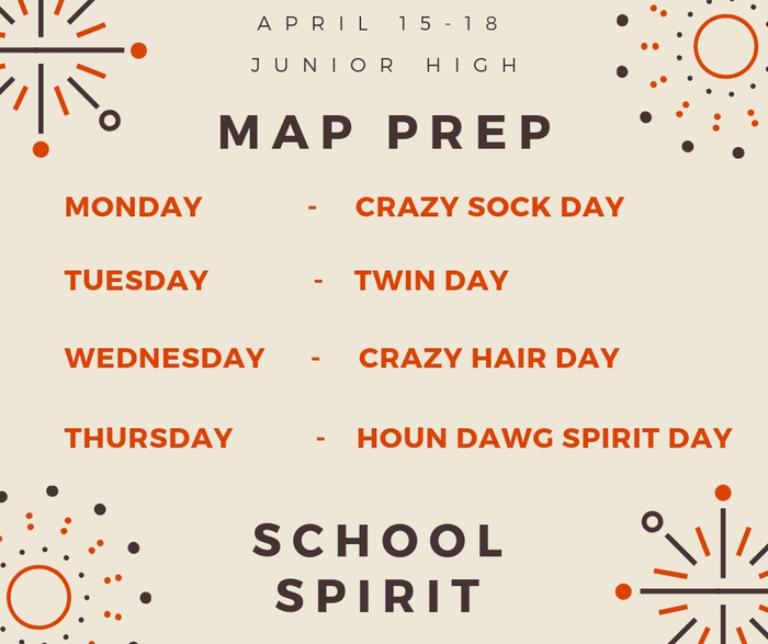 MAP PREP - School Spirit