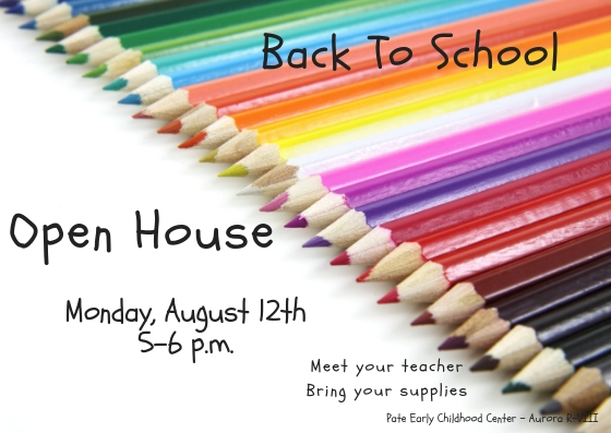 Open House @ Pate!
