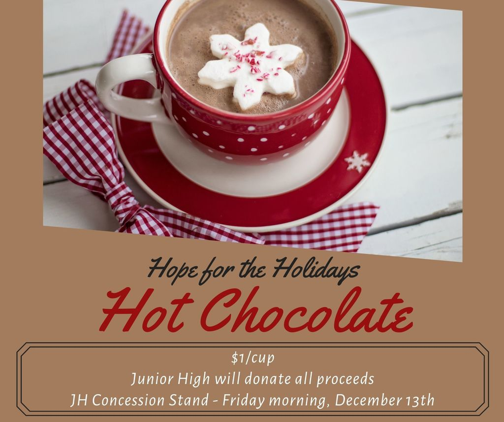 $1 Hot Chocolate