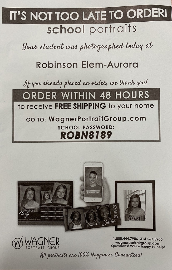 After Picture Day Order Information